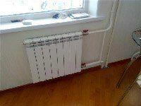 установка радиатора под ключ